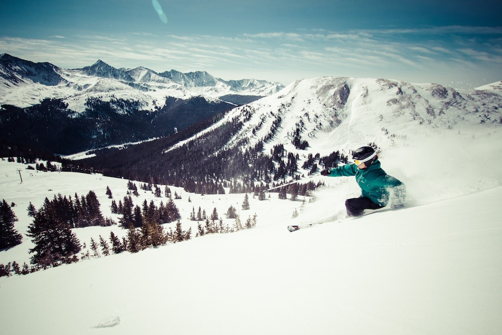 Spring Breaker Jodi Henderson finds powder