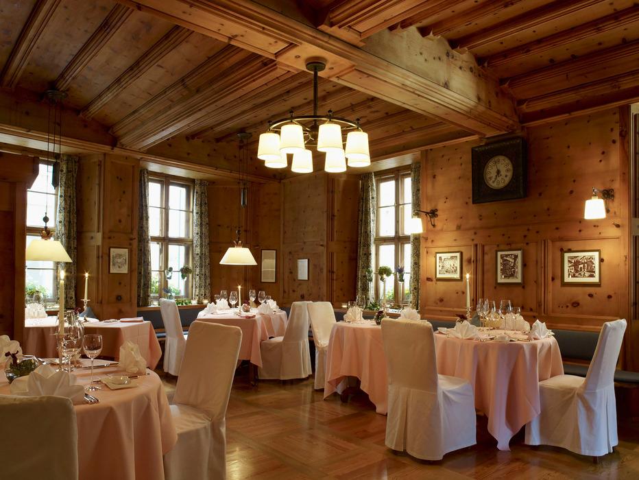 Kronenstübli: fine dining in St. Moritz - ©Grand Hotel Kronenhof