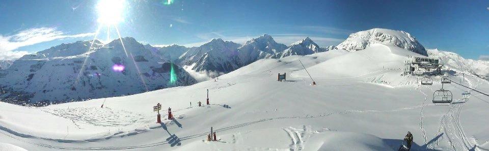 60cm in Les 2 Alpes March 19th, 2013 - ©Les 2 Alpes