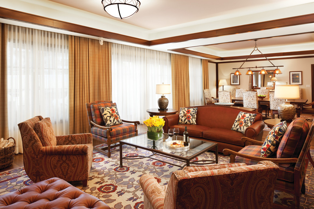The beautiful Gore Range Suite at the Four Seasons Vail.