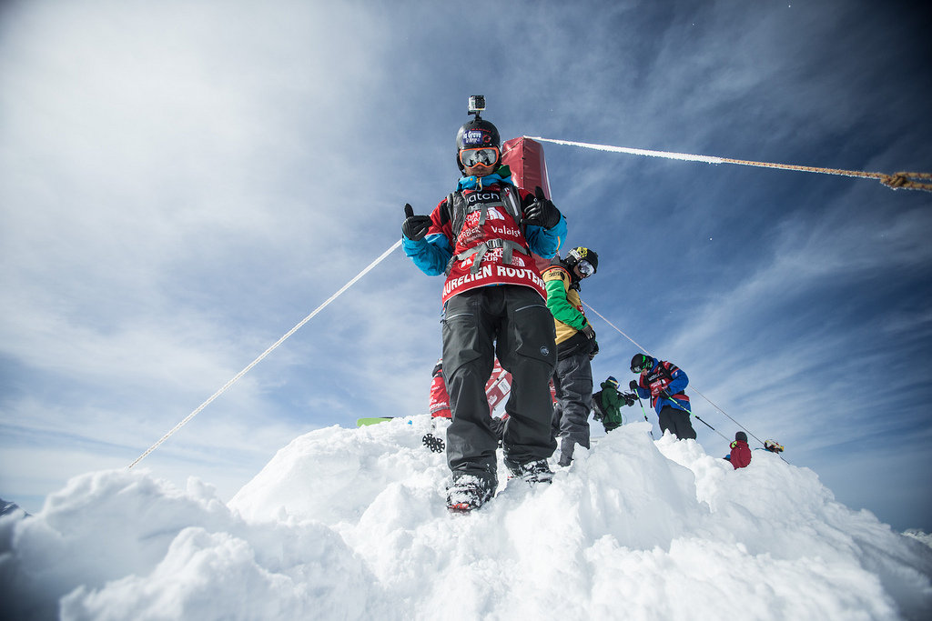 Freeride World Tour, Verbier 2013 - ©D. Daher