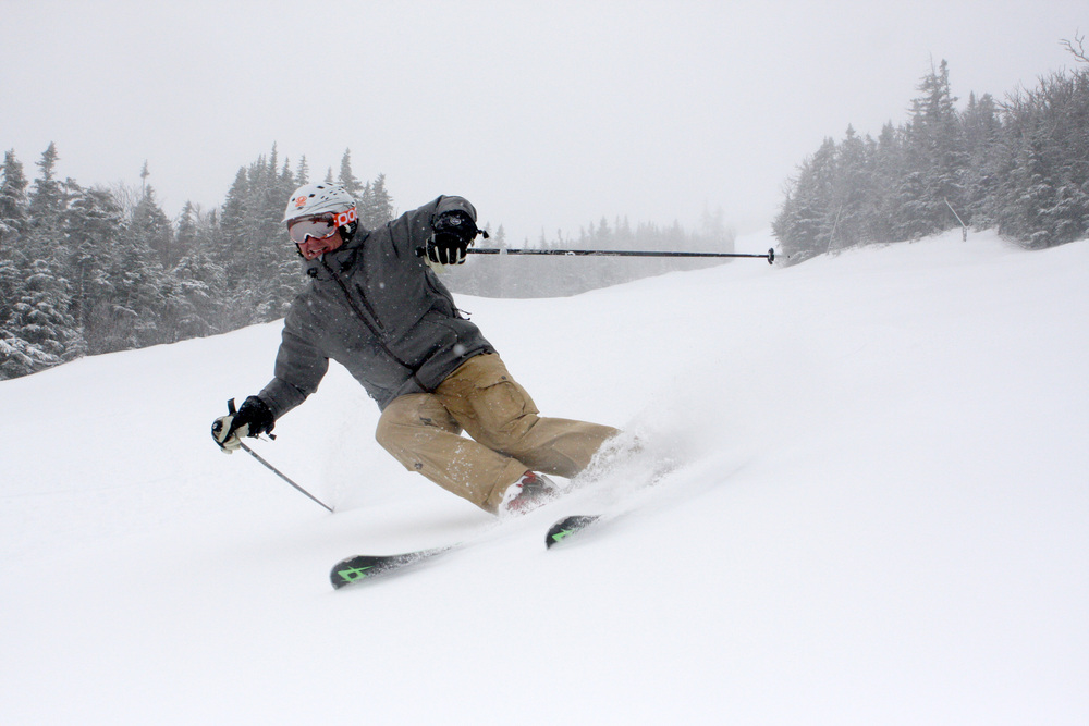 Sugarloaf started April at 100% open with amazing conditions. Photo Courtesy of Sugarloaf.