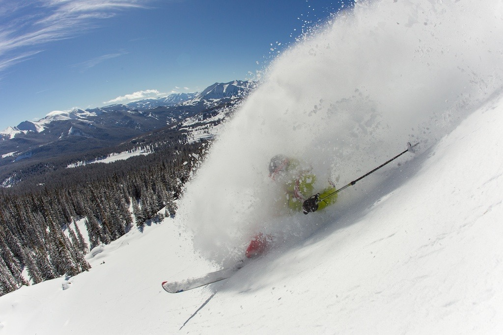 Powder turns galore at Irwin Cat Skiing. - ©Jeff Cricco