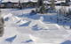The terrain park at Mt. Holly Canyon Park, MI.