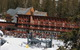 A view of a lodge at Sugar Bowl Ski Resort, California