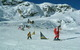 A ski school class underway on Mölltaler Glacier AUT