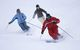 Skiers participate in an improvement clinic at Treble Cone NZ. Treble Cone Images 2006
