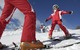 Ski school at Hochpustertal/Pusteria, Italy