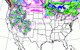 More than a foot of snow should fall across the Rockies late this week through Monday.