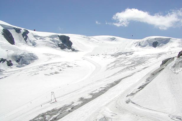 Plateau Rosa dal Colle del Teodulo - Cervinia Breuil, Valle d'Aosta - ©A. Corbo