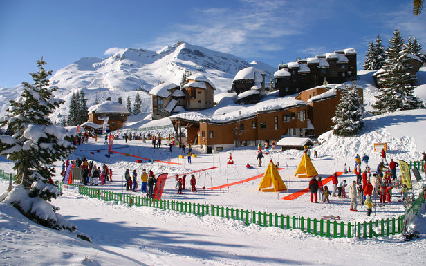 Village des enfants in Avoriaz, France