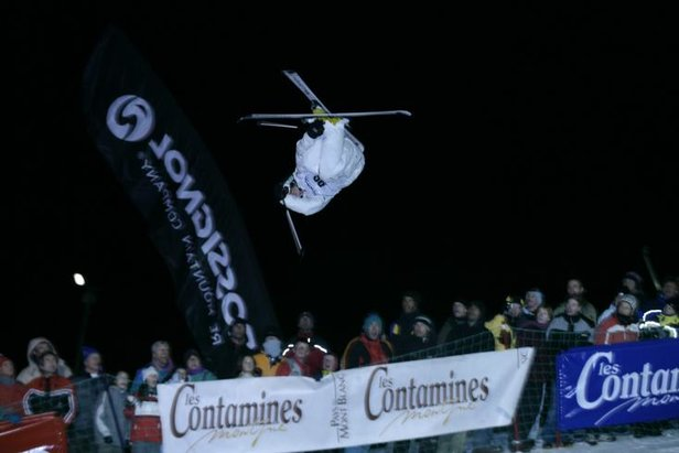 Les Contamines World Cup Freestyle