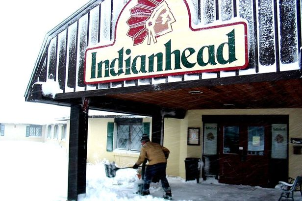 Indianhead shovel snow