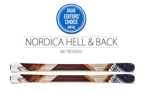2014 Men's All-Mountain Editors' Choice Ski: Nordica Hell & Back