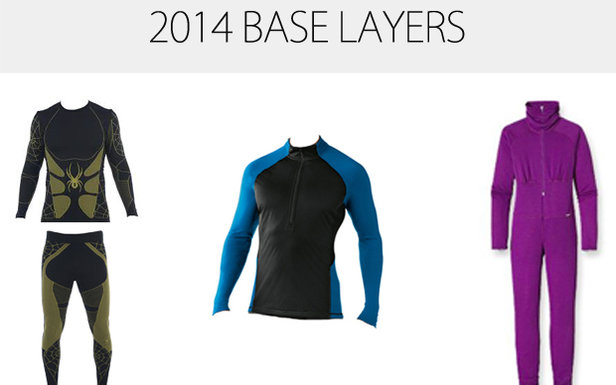 2014 Ski Base Layers