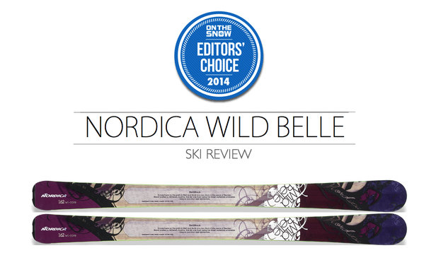 2014 Women Frontside Editor Choice Ski: Nordica Wild Belle