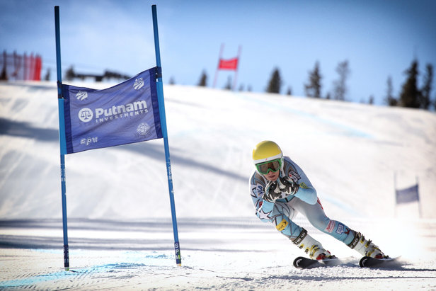 Brittany Lathrop at Copper Mountain. - ©Photo courtesy Tripp Fay/Copper Mountain Resort.