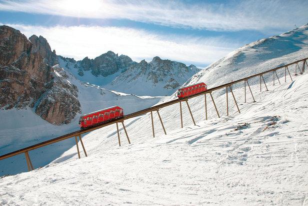 Olympiabahn im Skigebiet Axamer Lizum - ©Axamer Lizum