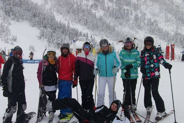 Ski time with Heriot Watt - ©HWSSC