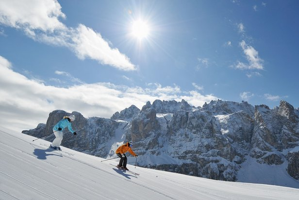 Some of the longest and most remarkable ski safaris can be found within the Dolomiti Superski region - ©Val Gardena