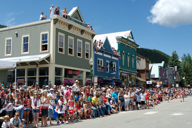 4th of July parades are a popular event in ski towns both big and small.