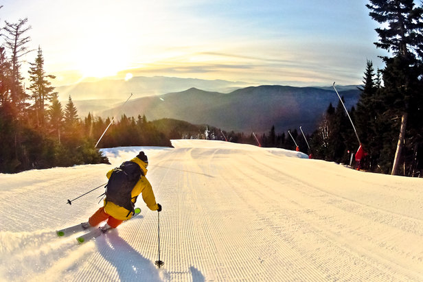 Greet the season, without the lines, with the Stowe's early season ByPass special. - ©Stowe Mountain Resort