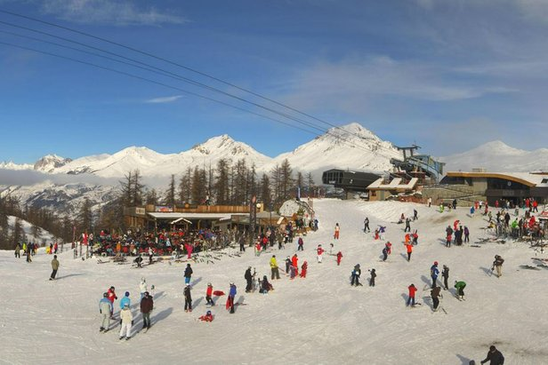 Serre Chevalier is a favourite with families - ©Serre Chevalier Tourism
