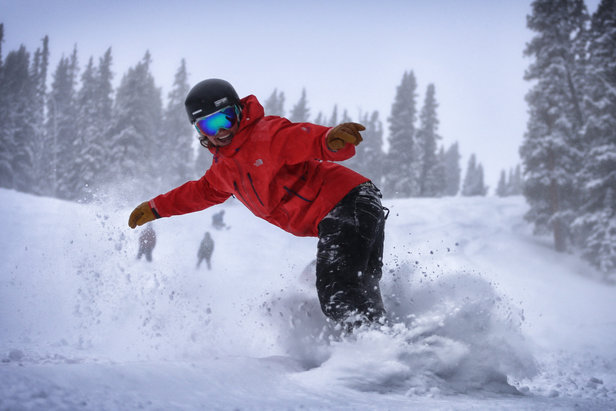 All smiles on a Copper powder day! - ©Tripp Fay