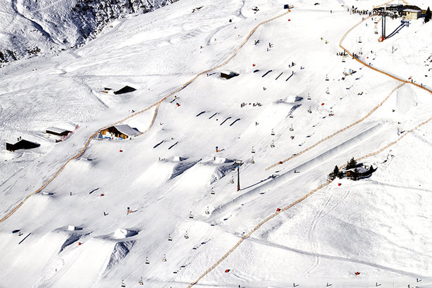 Vans Penken Park Mayrhofen - ©Mayrhofner Bergbahnen