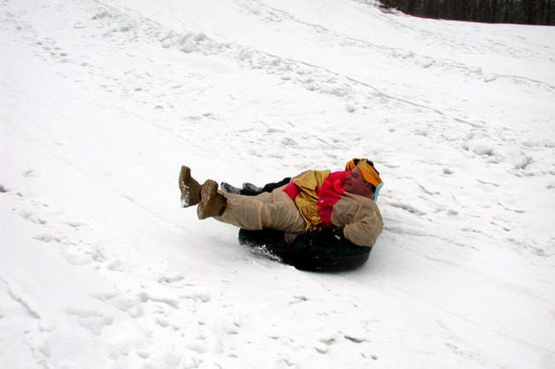 Tubing at Alpine Mountain, PA