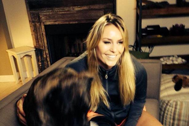 Lindsey Vonn commentatrice a Sochi 2014 per la Nbc