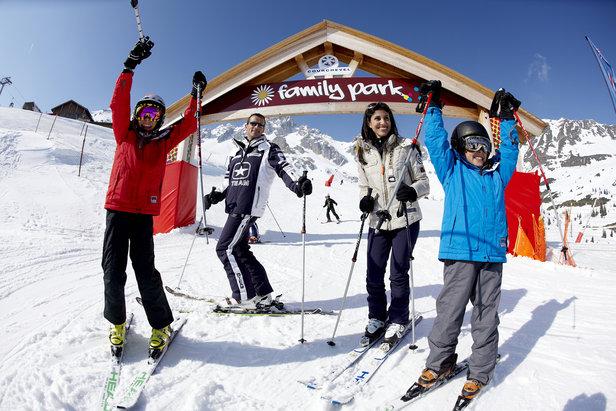 Ski en famille à Courchevel - ©David André