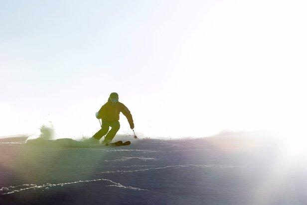 Sunny turns on Killington's Superstar trail. - ©Killington Resort