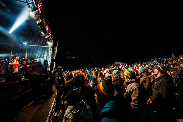 Festivars : Sergent Garcia en concert sur le front de neige de Vars - ©OT Vars