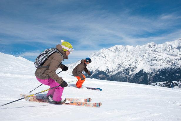 Ski de printemps aux Contamines - ©Gilles Lansard