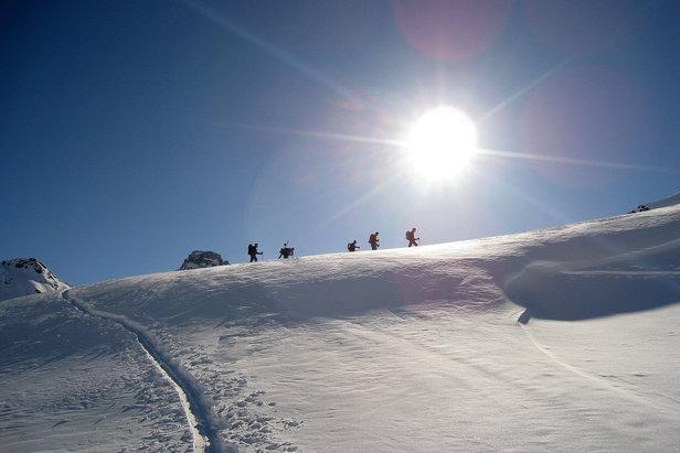 Toller Skitourentag in Vals - ©Dominik Binder, Oberägeri