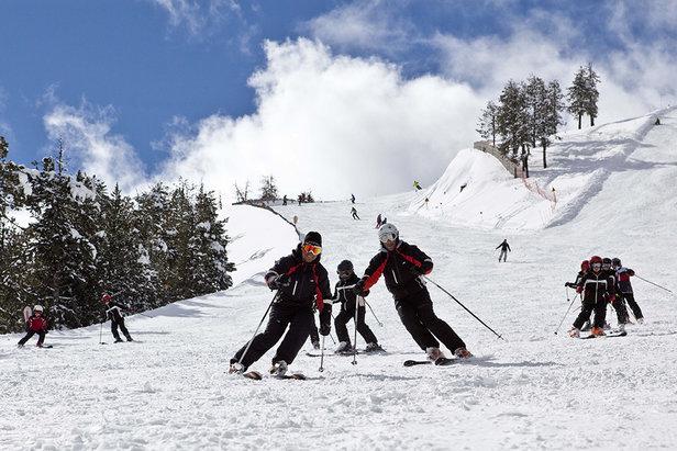 On the slopes of Arinsal, Vallnord - ©OT Vallnord