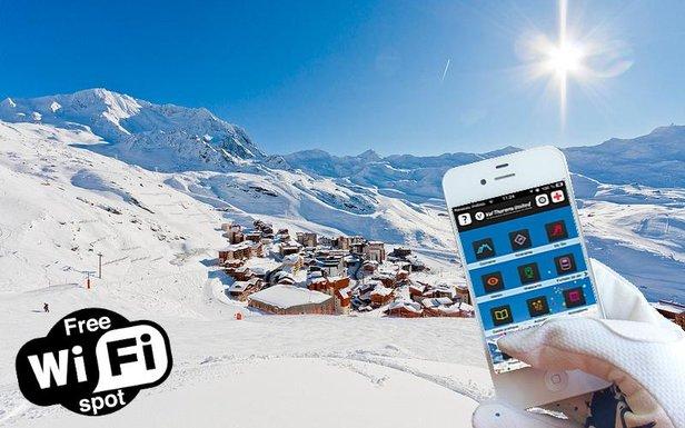 Wi-Fi Val Thorens - ©C. Cattin / OT de Val Thorens