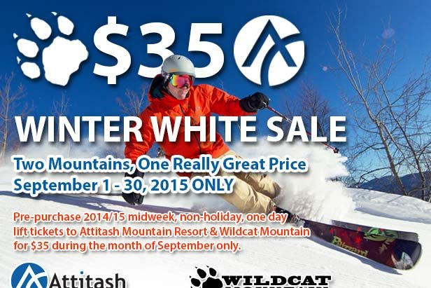 Winter White Sale - ©Kelly Canyon Ski Area