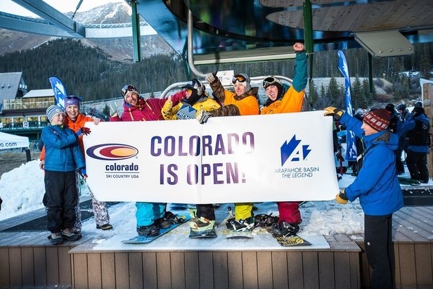 Arapahoe Basin Ski Area first to open for 2014/15 ski season - ©Dave Camara/Arapahoe Basin Ski Area