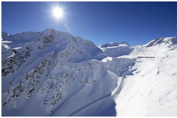 Sölden už odštartoval lyžiarsku sezónu na ľadovci! - ©Ötztal Tourismus