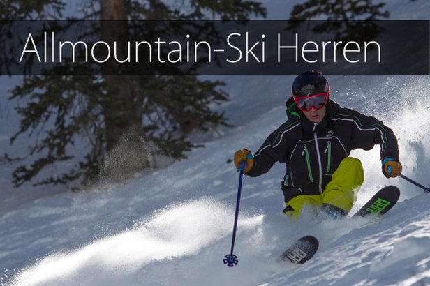 Skitest 2015: Allmountain-Ski Herren