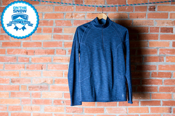 2015 men's base layers Editors' Choice: REI Midweight 4s Half Zip Top - ©Liam Doran