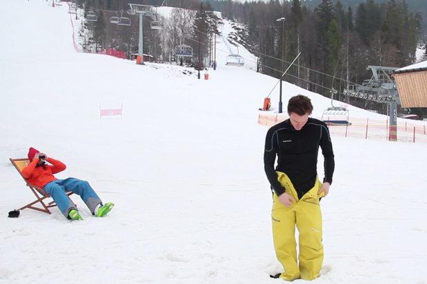 Come vestirsi sulla neve?