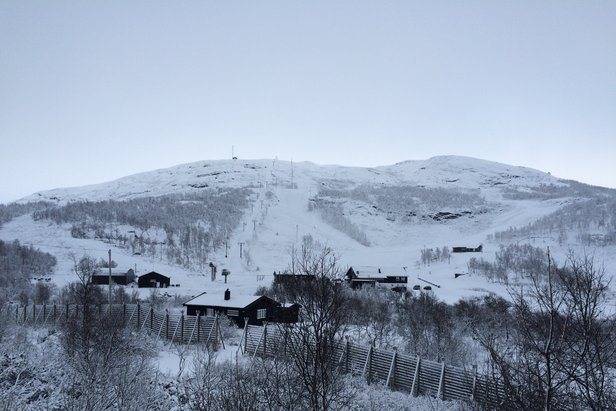 Endelig sesongåpning på Tyin-Filefjell - ©Magne Grihamar / tyinfilefjell.no