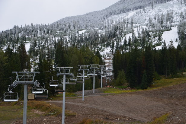 New Discovery Quad for winter 2014-15 at Panorama Mountain Resort. - ©Panorama Mountain Resort