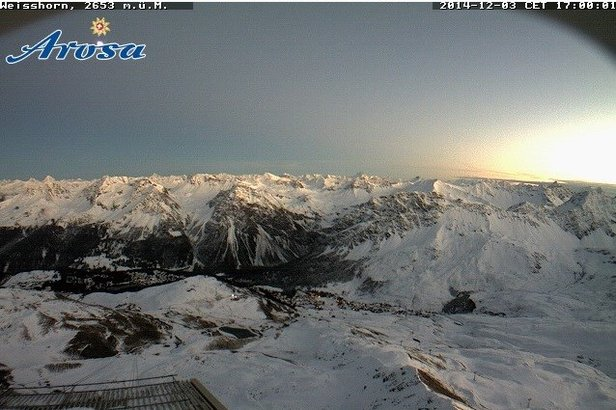 Webcam aus Arosa (3.12.) - ©Arosa