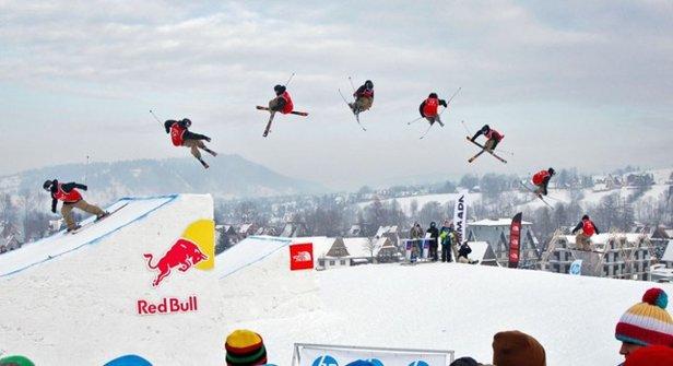 Między innymi takie akrobacje będzie można zobaczyć podczas Thule Polish Freeskiing Open 2015