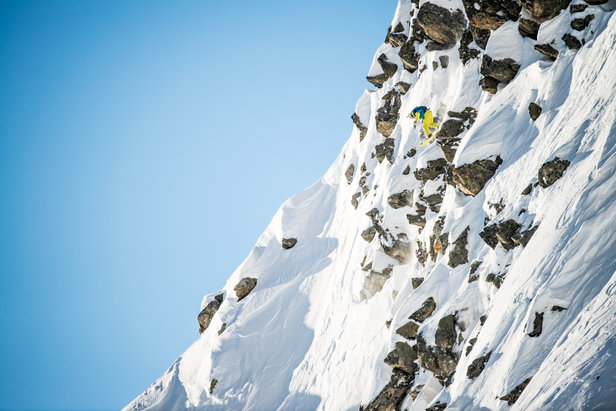 Spectacular methods impress the supporters - ©freerideworldtour.com /DCarlier