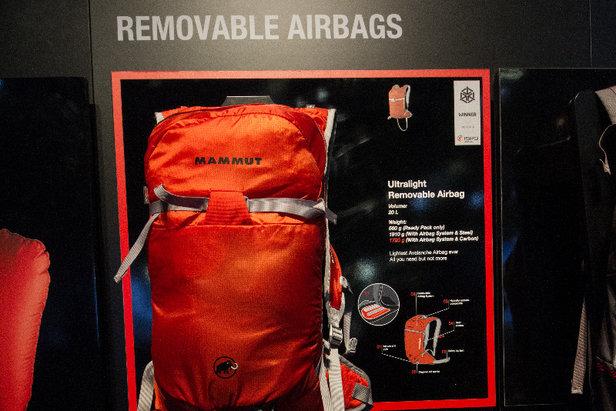 Absolutes Leichtgewicht: Der Lawinen-Rucksack Mammut Ultralight Removable Airbag wiegt nur 1,7 Kilogramm - ©Skiinfo